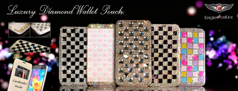 Luxury Diamond Wallet Pouch